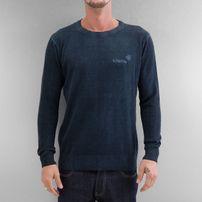 Clang Oilwashed Knitted Sweatshirt Indigo