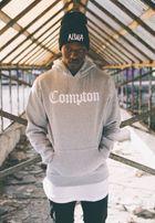 Mr. Tee Compton Hoody heather grey