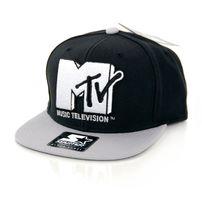 Starter MTV Icon Logo 3 Tone Black Grey
