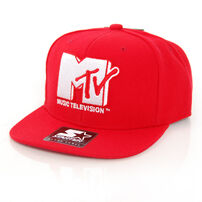 Starter MTV Icon Logo SB Red White