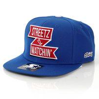 Streetz Iz Watchin Scroll Snapback Royal
