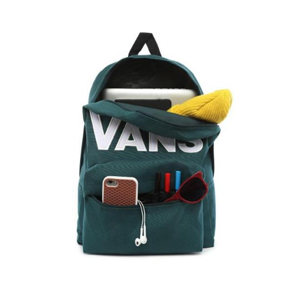 Hátiszák VANS MN OLD SKOOL III Backpack Trekking Green