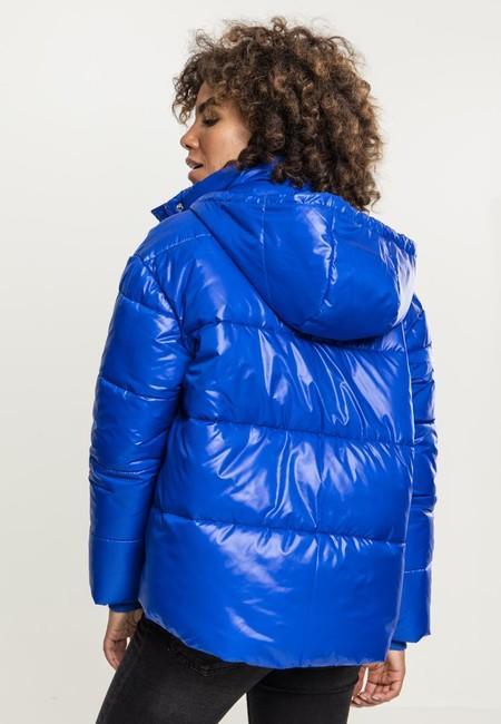 Urban Classics Ladies Vanish Puffer Jacket royalblue