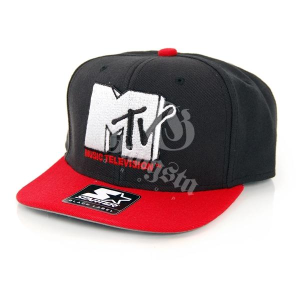 Starter MTV Icon Logo 3 Tone Black Red