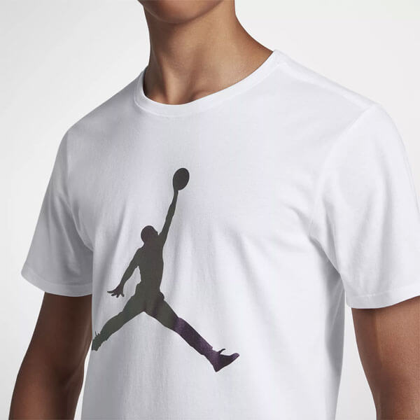 0e6f44ab31 ... Férfi póló Air Jordan Iconic Jumpman AA1905-100 Tee White ...