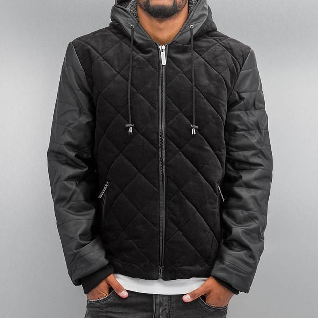 Just Rhyse Quilted Winter Jacket Black