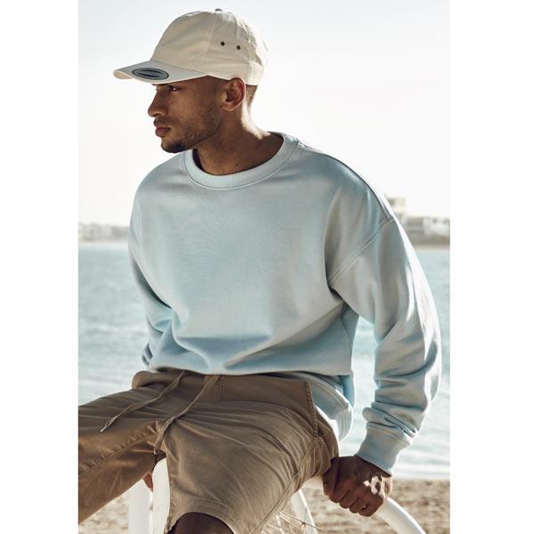Férfi pulóver Urban Classics Sweat Crewneck grey