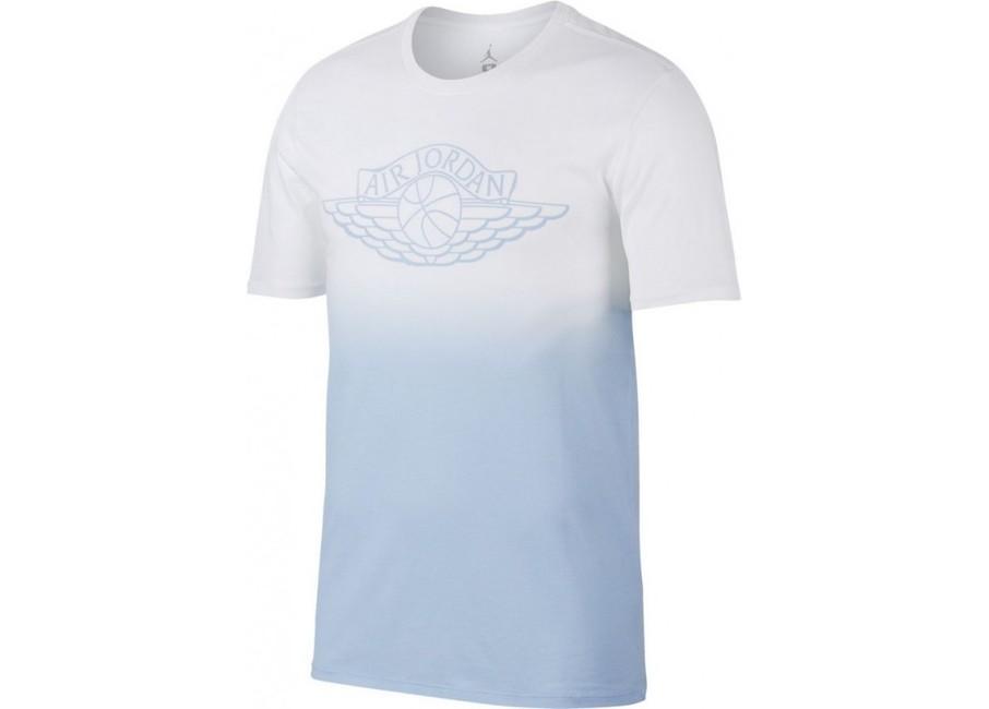 16dd232d14 Férfi póló Air Jordan Fadeaway Faded White Blue 843138-100 ...