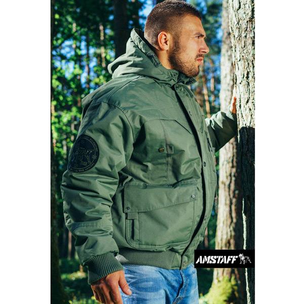 Téli Férfi Kabát Amstaff Conex Winterjacket Olive - Gangstagroup.hu ... e4cdd902df