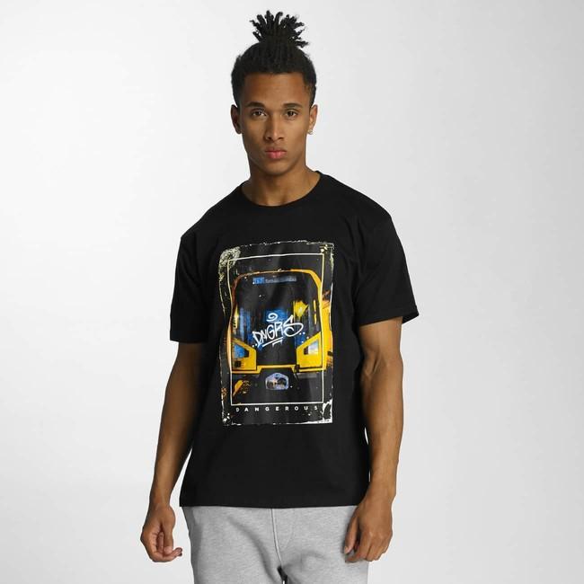Dangerous DNGRS Spandau T-Shirt Black - Gangstagroup.hu - Online Hip ... 8ca98c6822
