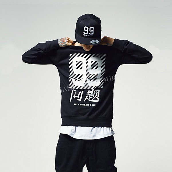 Mr. Tee Chinese Problems Crewneck black - Gangstagroup.hu - Online ... 70344251dd