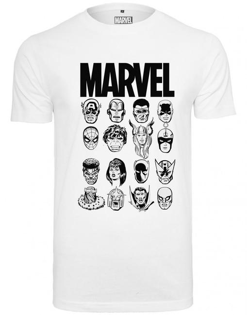 Mr. Tee Marvel Crew Tee white