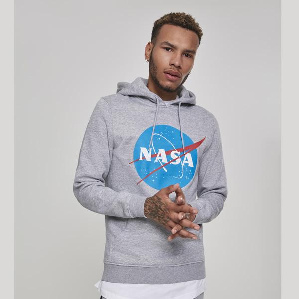 Pulóver Mr. Tee NASA Hoody heather grey Gangstagroup.hu