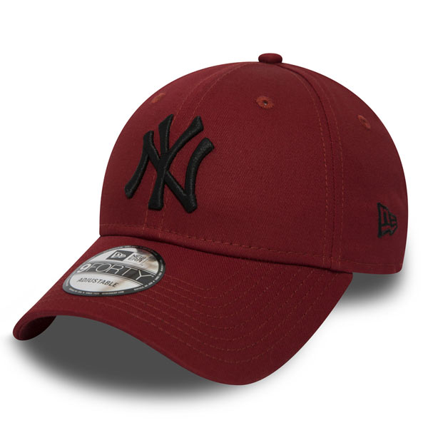 Sapka New Era 9Forty Essential NY Yankees Cap Hot Red - Gangstagroup ... 797a063427