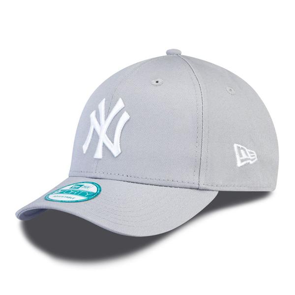Sapka New Era 9Forty MLB League Basic NY Yankees Grey White ... c17300c874