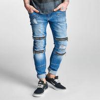 2Y Bars Slim Fit Jeans Denim Blue