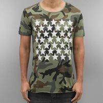 2Y Camo Stars T-Shirt Khaki