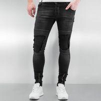 2Y Chester Skinny Jeans Black