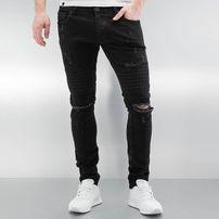2Y Crap Skinny Jeans Black