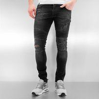 2Y  Lagos Skinny Jeans Black