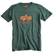 Férfi póló Alpha Industries Basic T-Shirt Dark Petrol