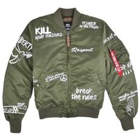 Férfi bomber dzeki Alpha Industries MA-1 VF Freedom Sage Green