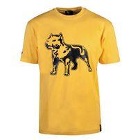 Amstaff Logo Shirt - gelb