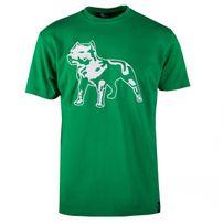 Amstaff Logo Tee Green