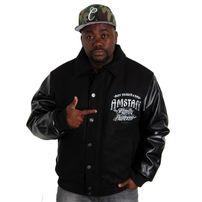 Amstaff Riddox College Jacket Black