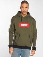 Ataque / Hoodie Mataro in khaki
