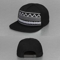 Bangastic Pattern Snapback Cap Black