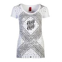 Blood In Blood Out Bandana Woman T-shirt White