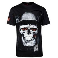 Blood In Blood Out Blood Skull Black Hat T-Shirt