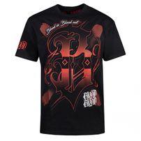 Pólo Blood In Blood Out Escudok T-Shirt Black