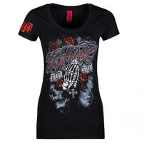 Blood In Blood Out Manos Orando WomanT-shirt Black
