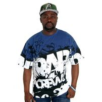 Bsat Rap Crew Tee Royal White