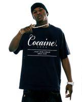 Férfu Póló Cocaine Life Basic Large Logo Tee Black