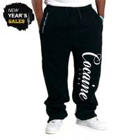Cocaine Life Basic Logo Sweatpants Black