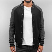 Cyprime Raglan College Jacket Black/Anthracite