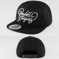 Dangerous DNGRS Beautiful Snapback Cap Black