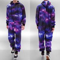 Dangerous DNGRS Galaxy Jumpsuit Purple