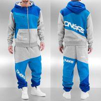 Dangerous DNGRS Sweat Suit Grey/Blue/Denim