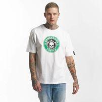 Dangerous DNGRS / T-Shirt Coffee in white