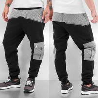 Just Rhyse Beat III Sweat Pants Black/Grey Melange