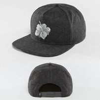 Just Rhyse Hawaiian Snapback Cap Anthracite