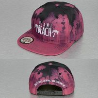 Just Rhyse Miami Beach Snapback Cap Red