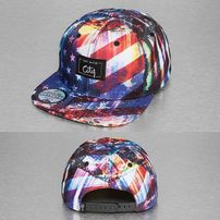Just Rhyse Stars Stripes Snapback Cap Colored