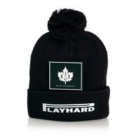 K1x Play Hard Leaf Bommel Beanie Black 1153-5241-0001