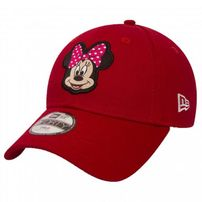 Gyerek sapka New Era 9Forty Youth Disney Patch Minnie Mouse Red