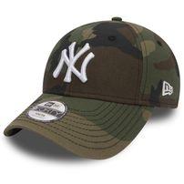 GYEREK SAPKA NEW ERA 9FORTY YOUTH MLB LEAGUE BASIC NEW YORK YANKEES CAMO